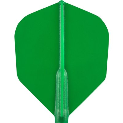 Cosmo Darts - Fit Flight Green Shape