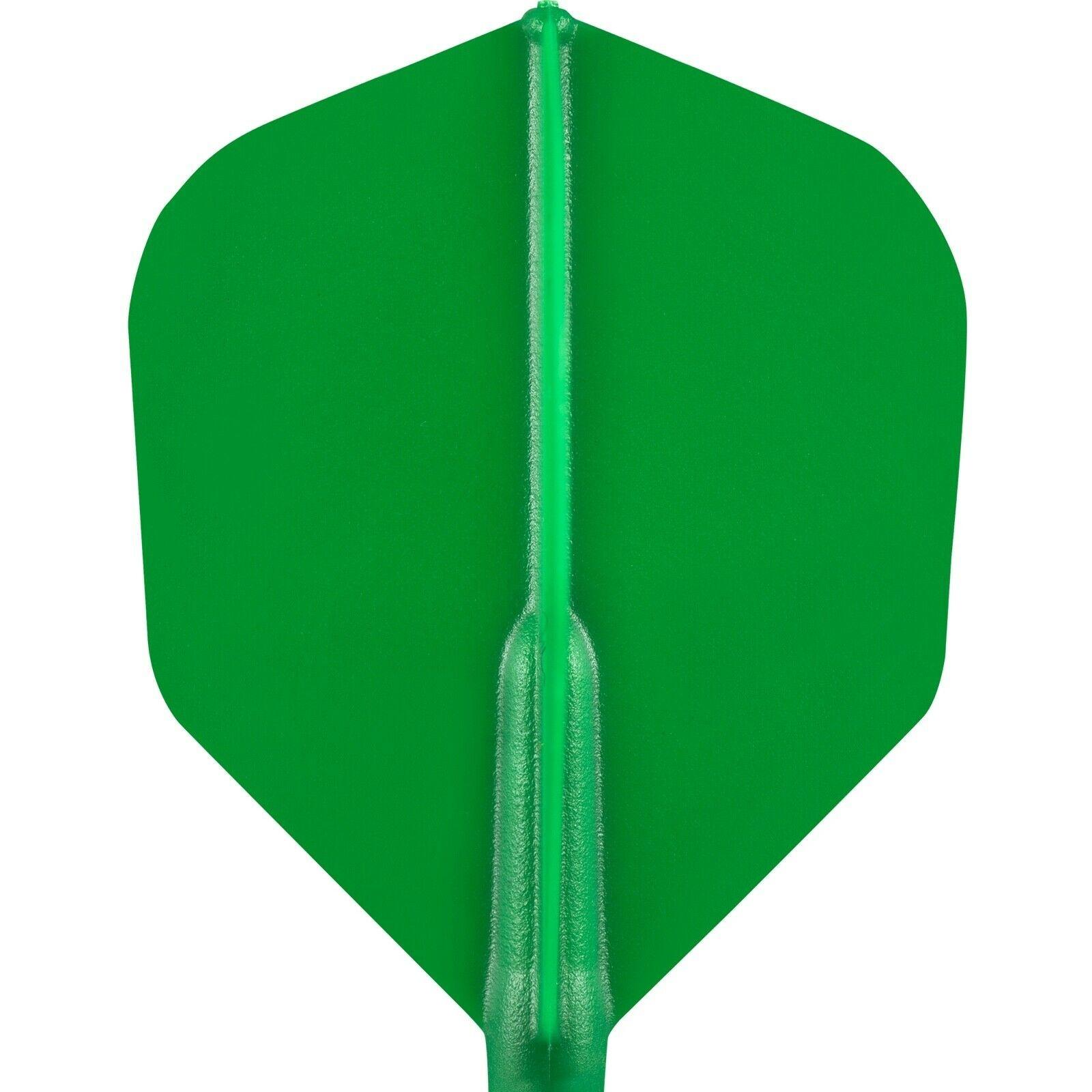 Cosmo Darts - Fit Flight Green Shape
