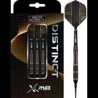 XQMax Darts XQMax Distinct M3 Black Brass Soft Tip