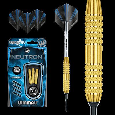 Winmau Neutron 3 Brass  Soft Tip