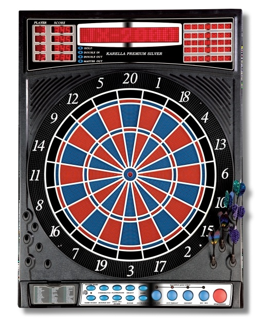 Karella - Premium Silver Elektronisch Dartbord