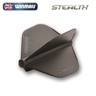 Winmau Stealth Flights Black