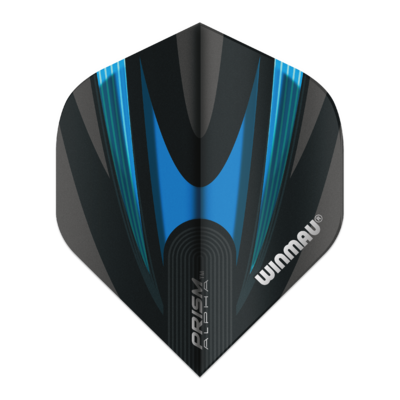 Winmau Prism Alpha Black & Aqua