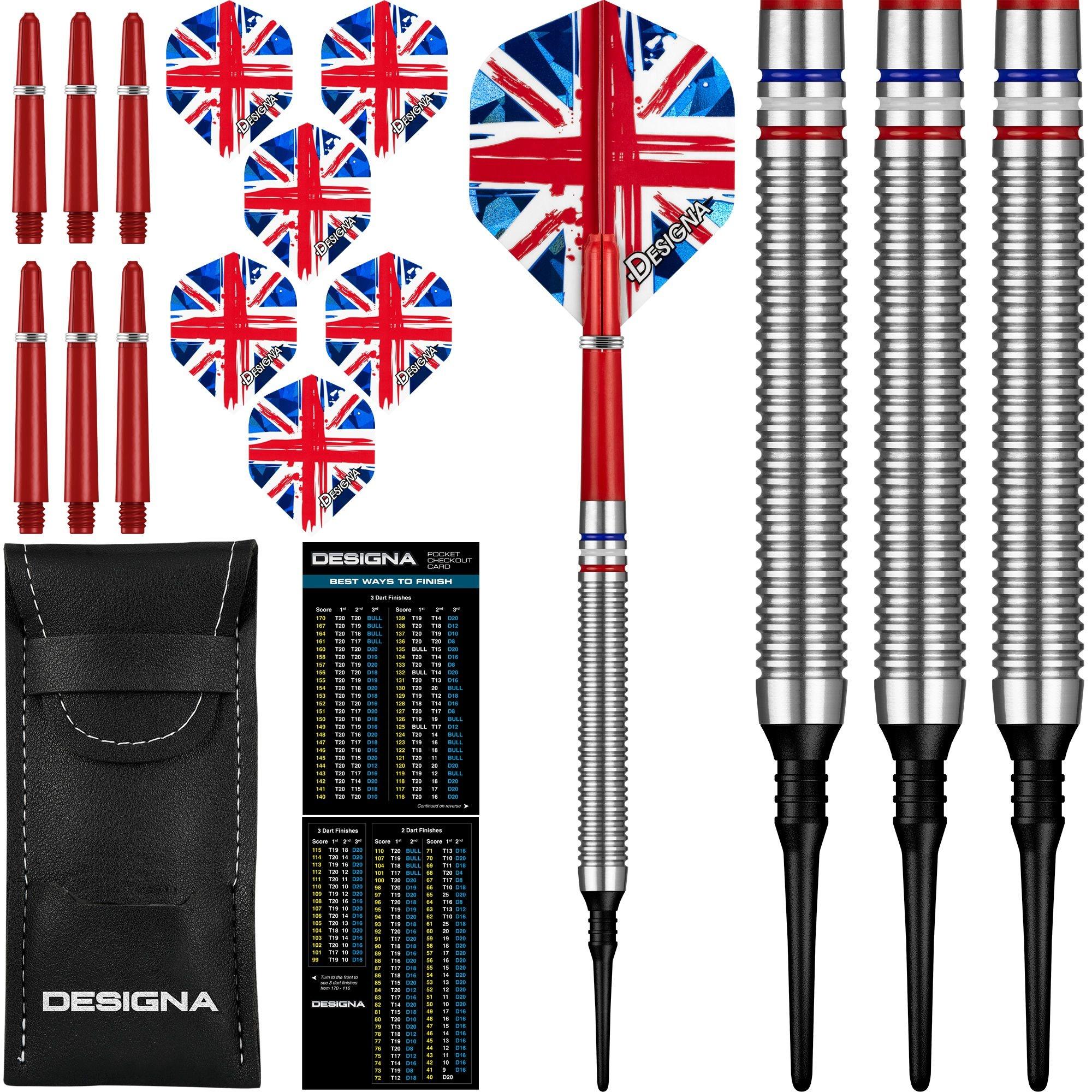 Patriot X Great Britain 90% Soft Tip