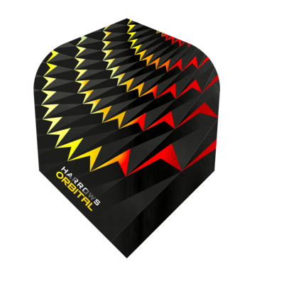 Harrows Orbital Yellow/Red