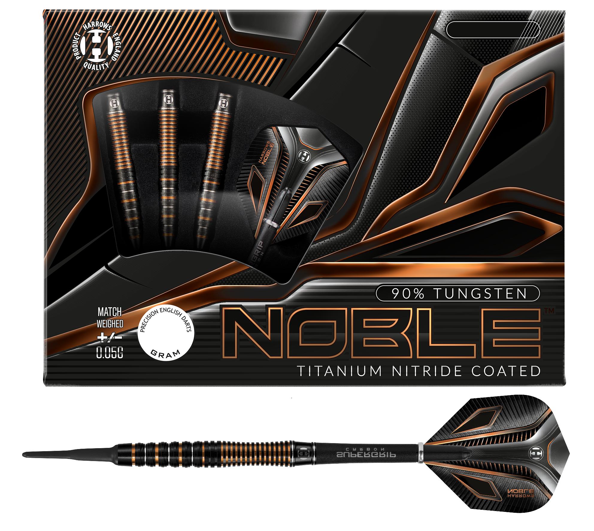 Harrows Noble 90% Soft Tip
