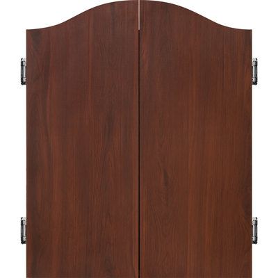 Mission Dartbord Deluxe Cabinet - Sedona Red