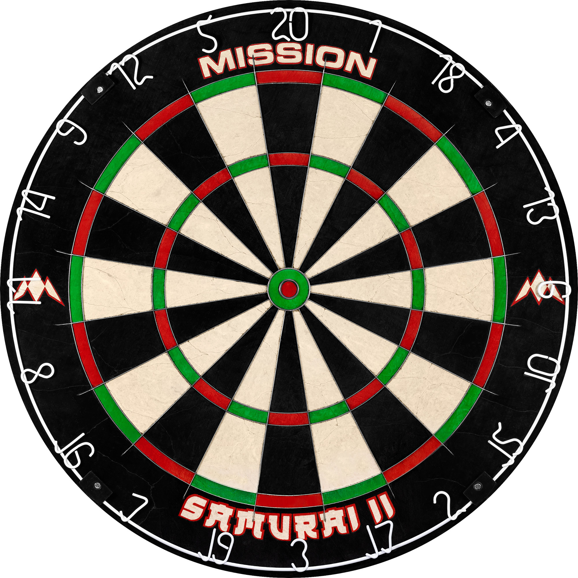 Mission Samurai II Dartbord