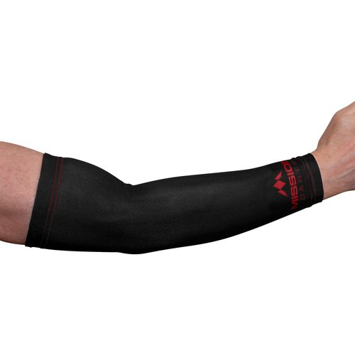 Mission Mission Arm Sleeve Logo Red (2pcs)