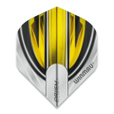 Winmau Prism Alpha Extra Thick White & Yellow