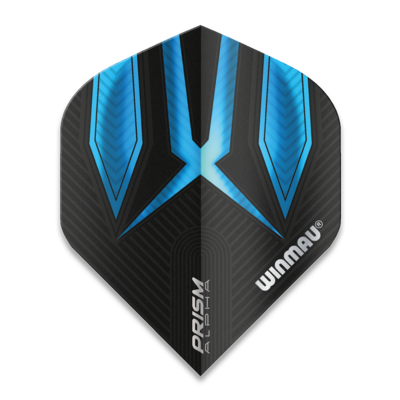 Winmau Prism Alpha Extra Thick Black & Blue