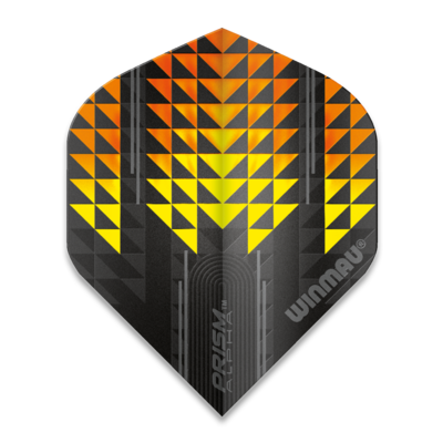 Winmau Prism Alpha Extra Thick Yellow & Orange