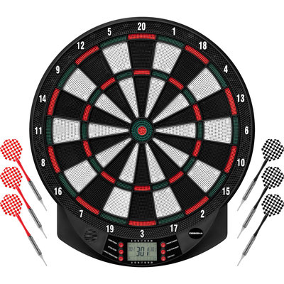 Dartshopper Elektronisch Dartbord + 2 Sets Darts