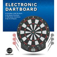 Dartshopper Dartshopper Elektronisch Dartbord + 2 Sets Darts
