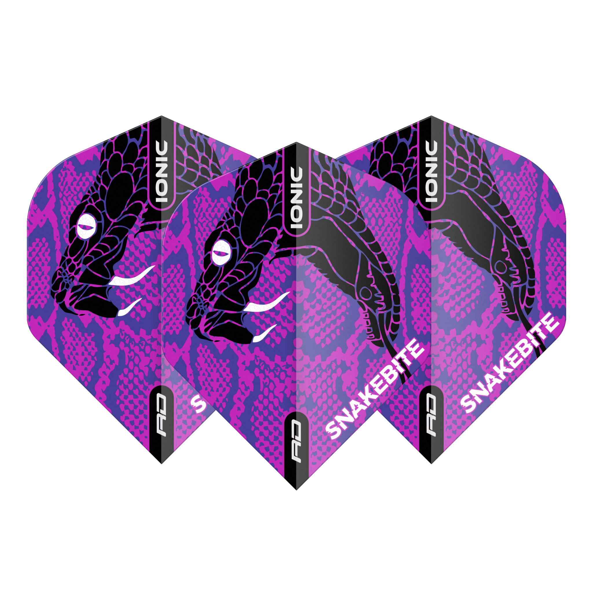 Peter Wright Hardcore Ionic Snakebite Purple Head