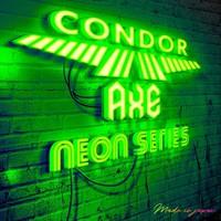 Condor Condor Neon Axe Flight System - Shape Yellow