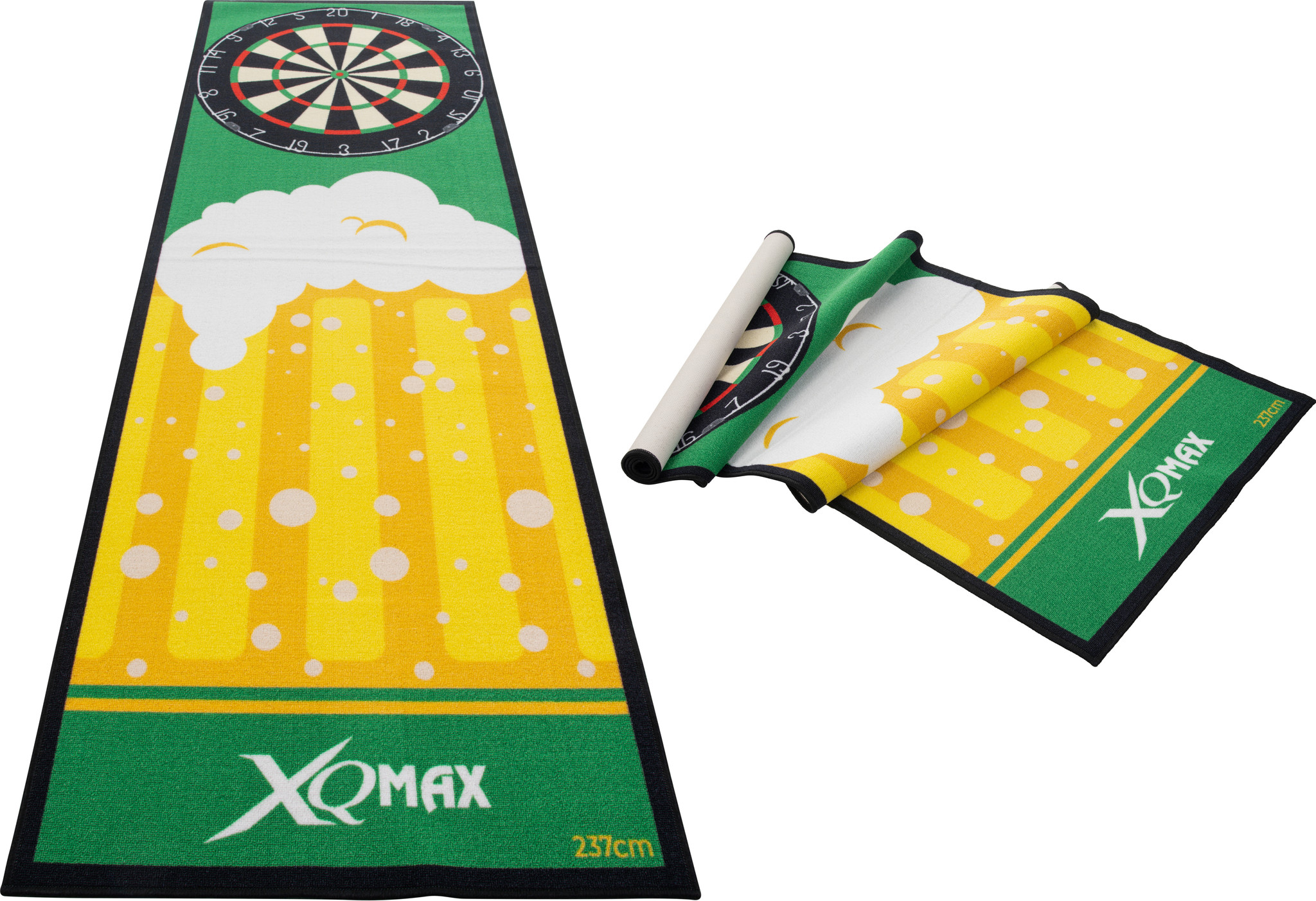 XQ Max Carpet Dartmat Beer