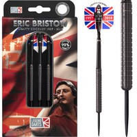 Legend Darts Eric Bristow Crafty Cockney 90% Black Ringed