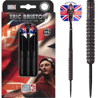 Eric Bristow Crafty Cockney 90% Black Knurled