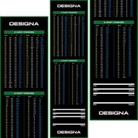 Designa Designa Carpet Dart Mat - Non Slip Back - 290cm x 80cm
