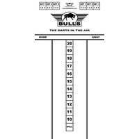 Bull's Budget Whiteboard 60x30 cm