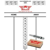 Bull's Bull's Scorebord Set 35 x 25