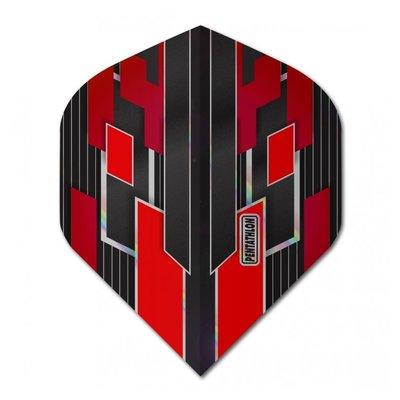 Pentathlon Gilded Red