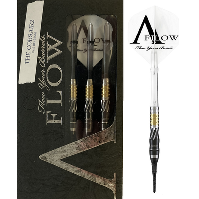 Dynasty A-FLOW Black Line Cyril Blot - The Corsair 2 90% Soft Tip