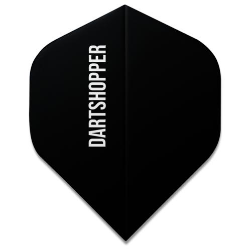 Dartshopper Flights Bedrukken Tekst - 75 micron (10 sets)