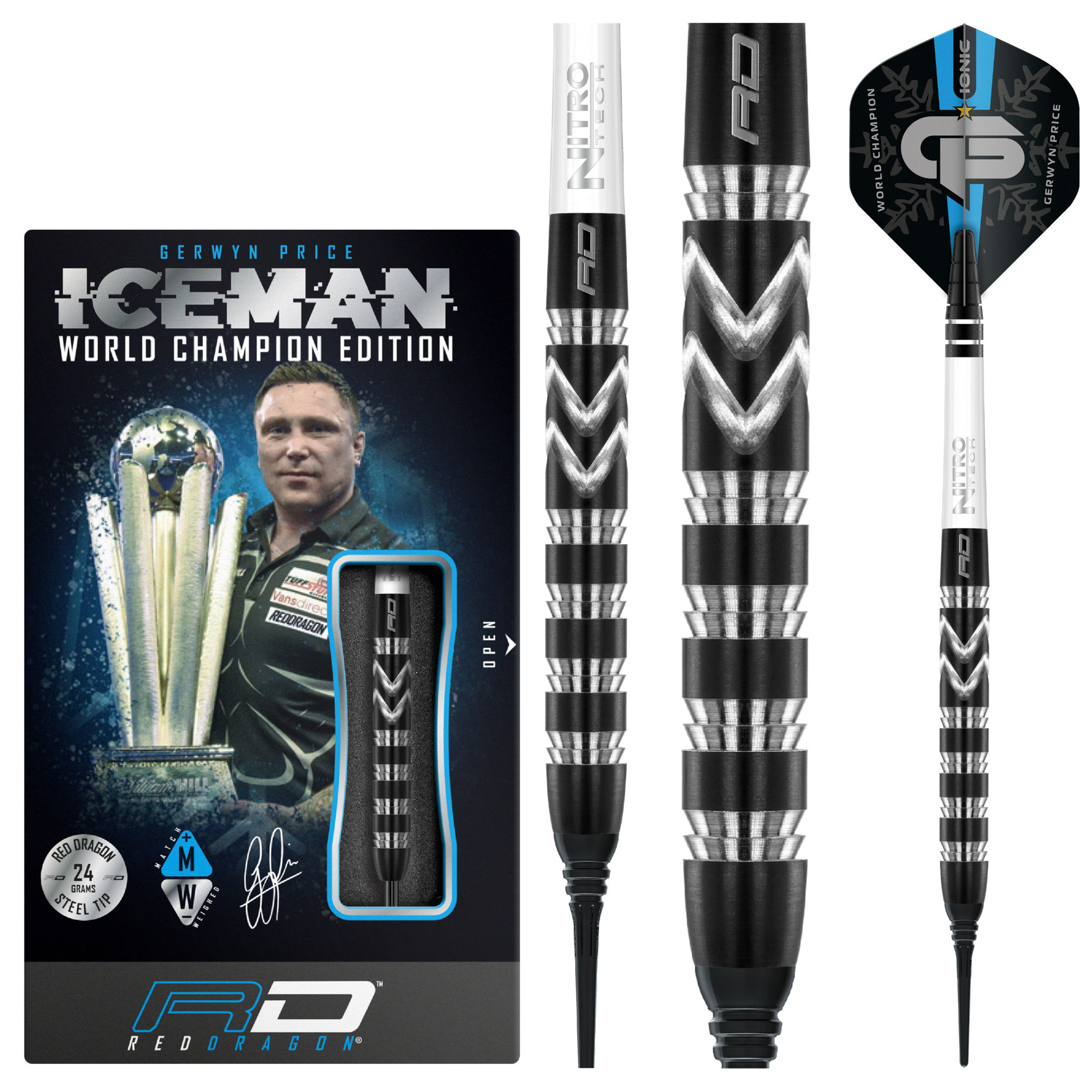 Gerwyn Price 90% WC2021 Special Edition - Soft Tip