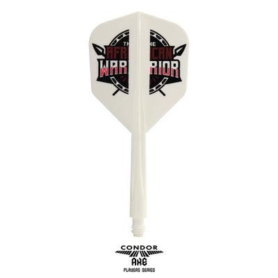 Condor Axe Player - African Warrior - Inspiration 2 White - Small