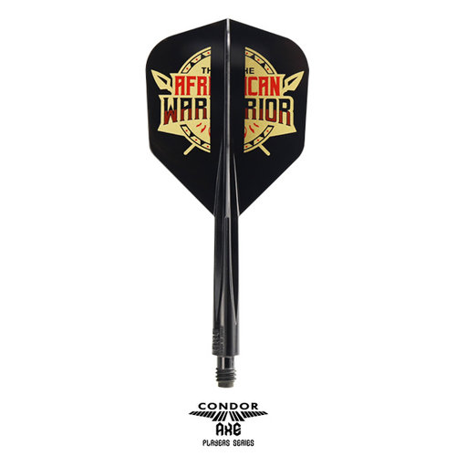 Condor Condor Axe Player - African Warrior - Inspiration 2 Black- Small