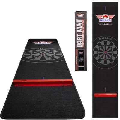 [Tweedekans] Bull's Carpet Dartmat + Oche 300x65cm Rode Rand