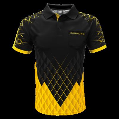 Harrows Paragon Dartshirt Yellow