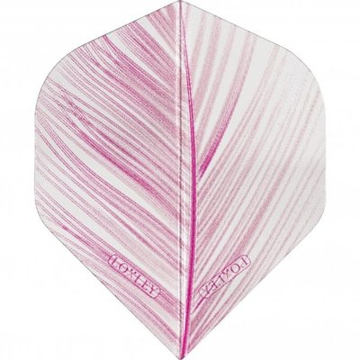 Loxley Feather Transparant Pink NO2