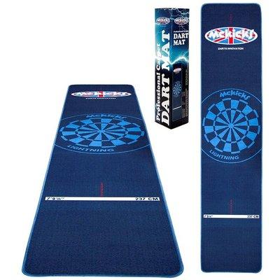 McKicks Carpet Dartmat Blue 300 x 65 cm