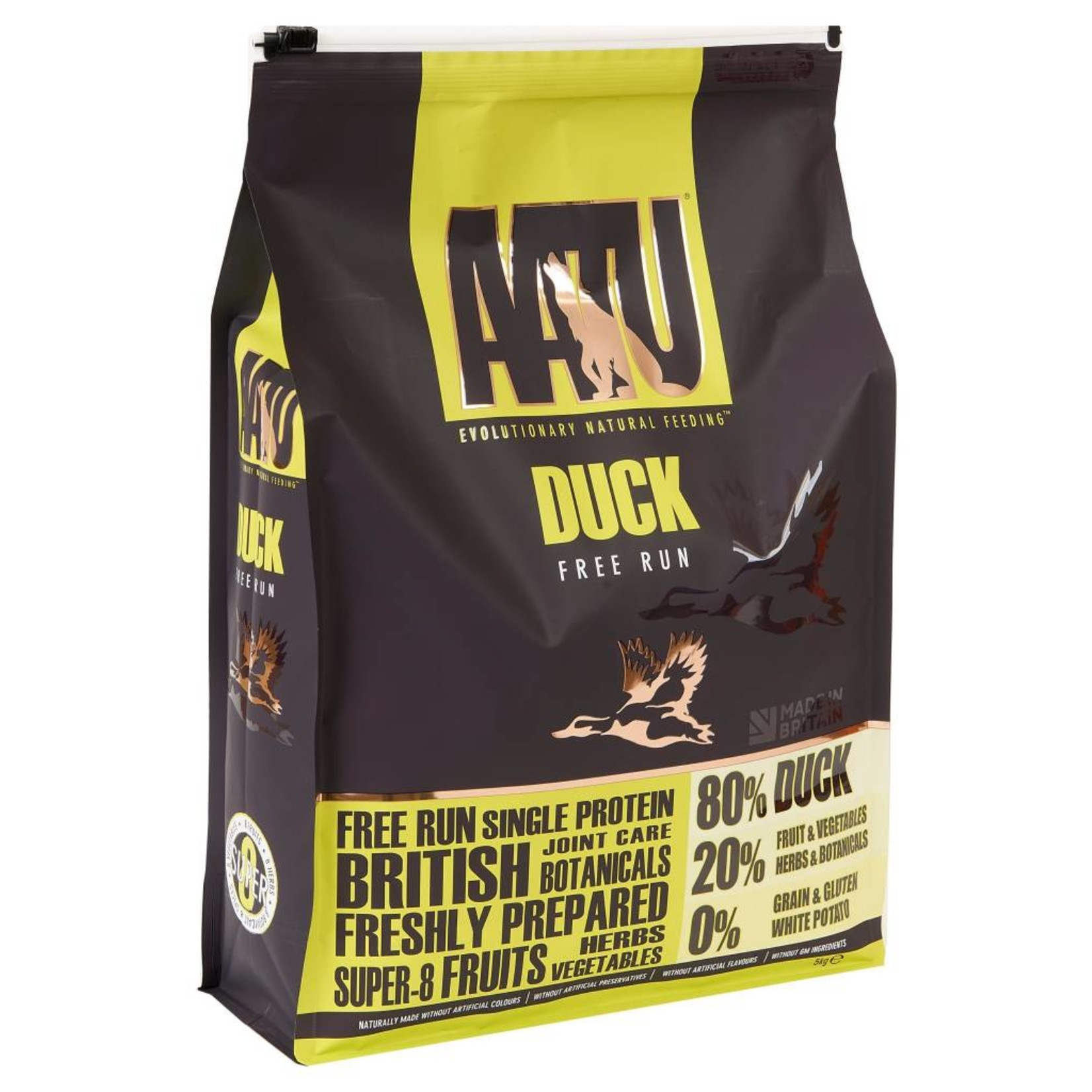 AATU 80/20 Dog Dry Food, Duck