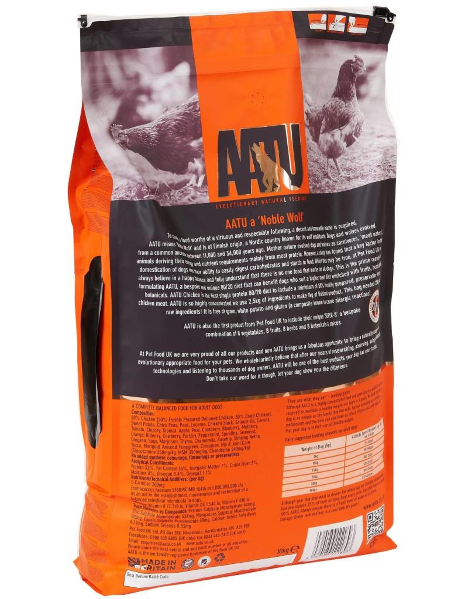 AATU 80/20 Dog Dry Food, Chicken
