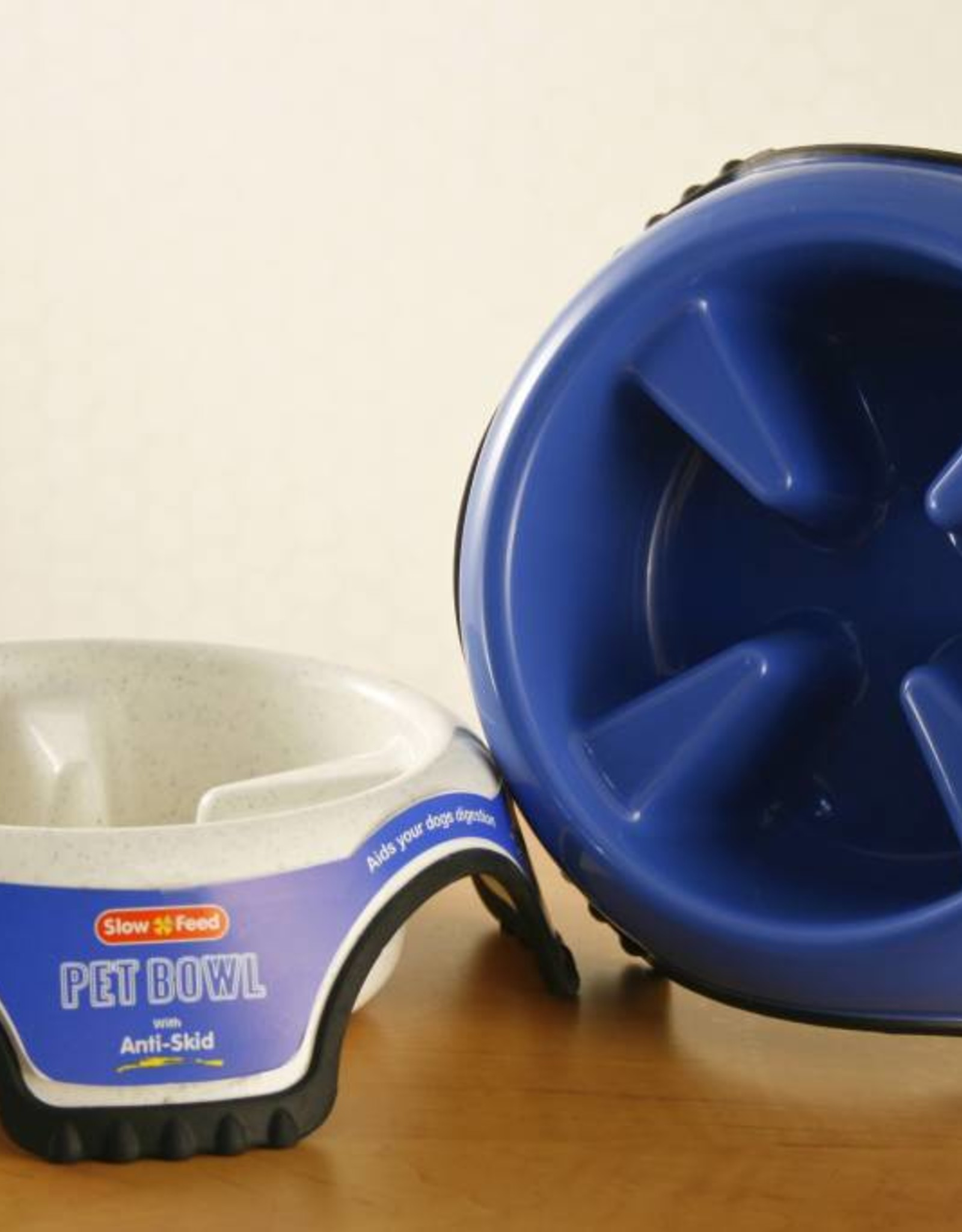 JW Anti-Skid Slow Feed Pet Bowl