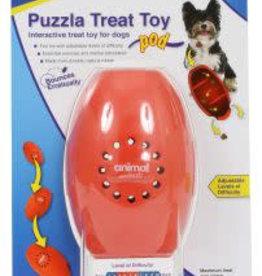 Animal Instincts Puzzla Dog Toy Treat Pod