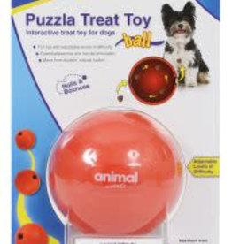 Animal Instincts Puzzla Dog Toy Treat Ball