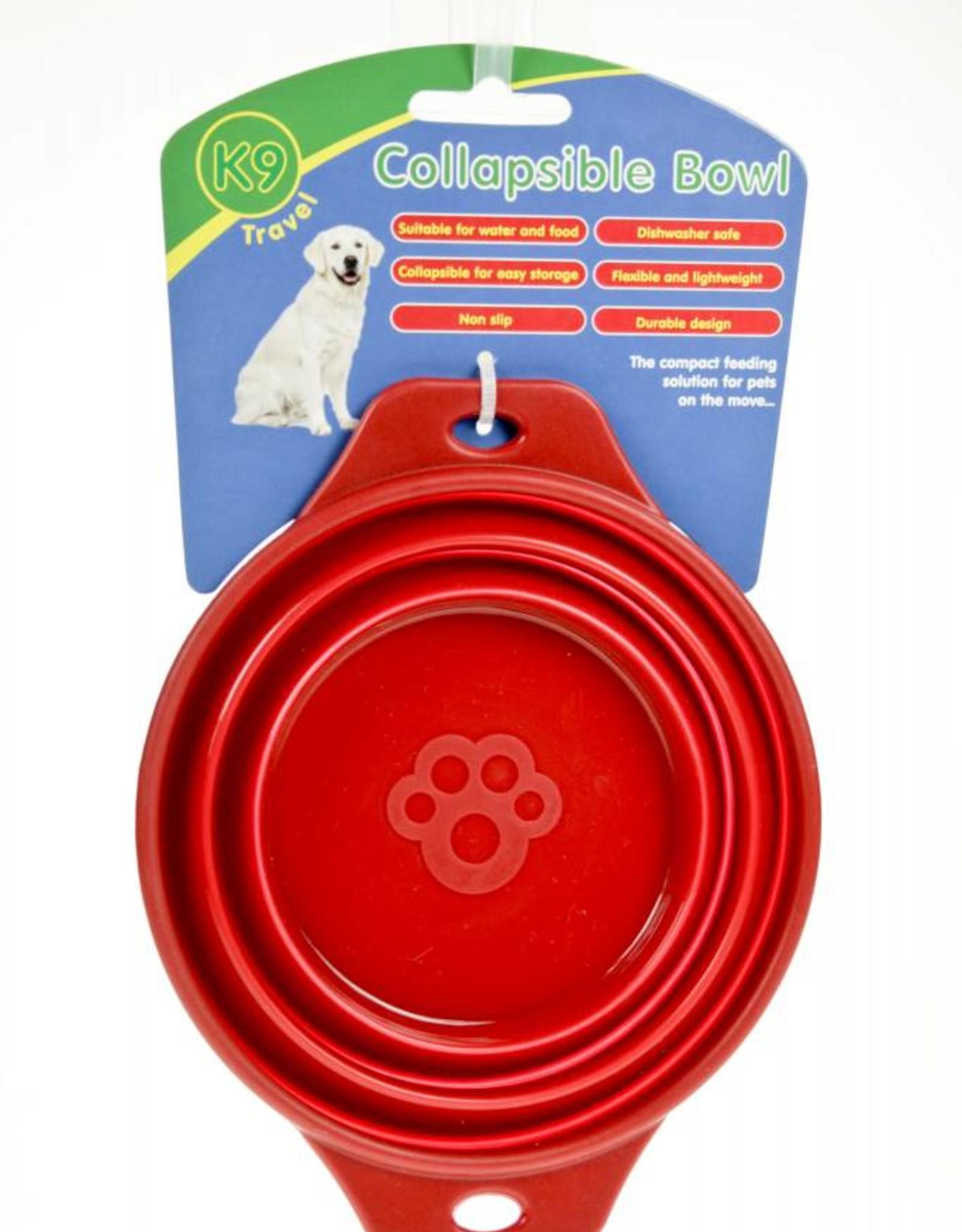 Animal Instincts Travel Collapsible Dog Bowl 0.5 Litre