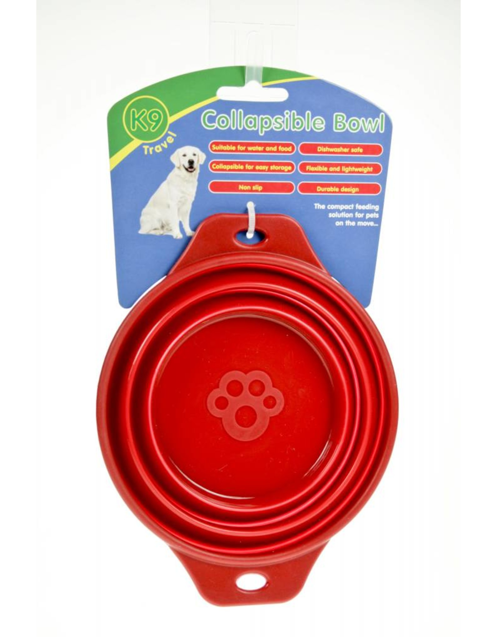 Animal Instincts Travel Collapsible Dog Bowl 0.5 Litre