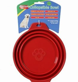 Animal Instincts Travel Collapsible Bowl 1 litre