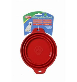 Animal Instincts Travel Collapsible Dog Bowl 1 litre