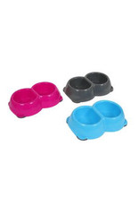 Animal Instincts Twin Plastic Dog Bowl