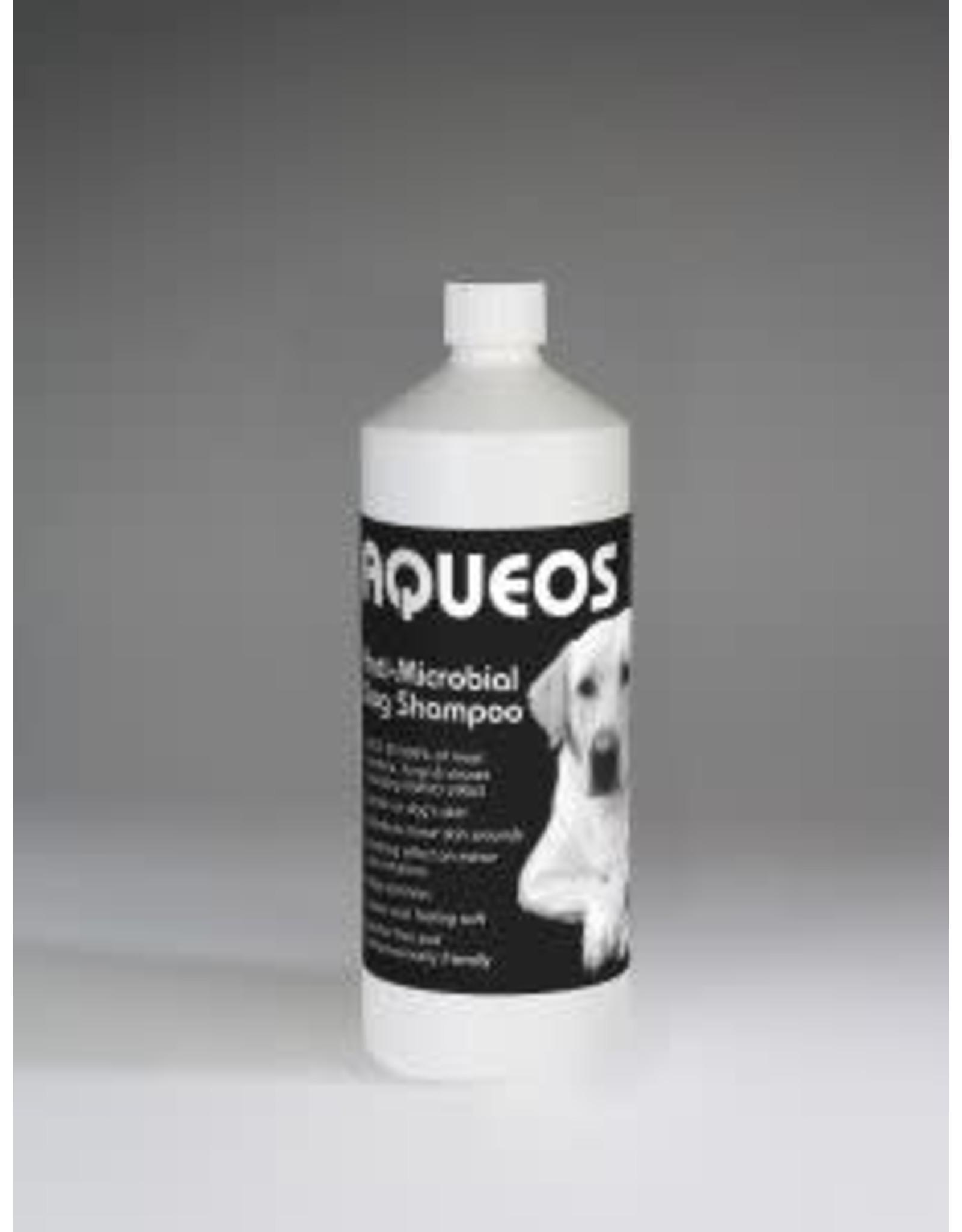 Aqueos Anti-Bacterial Dog Shampoo, 1ltr