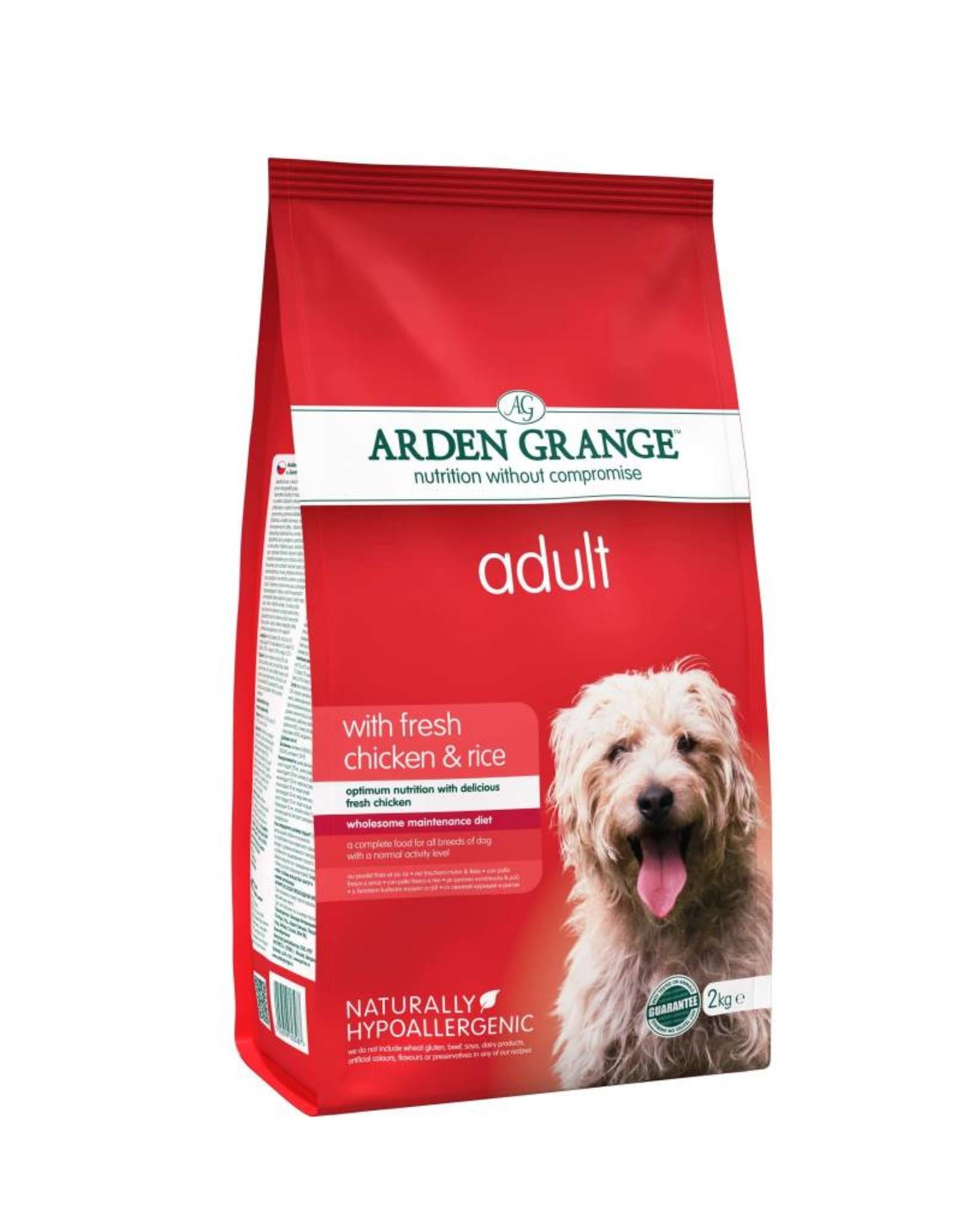 Arden Grange Adult Dog Dry Food, Chicken & Rice