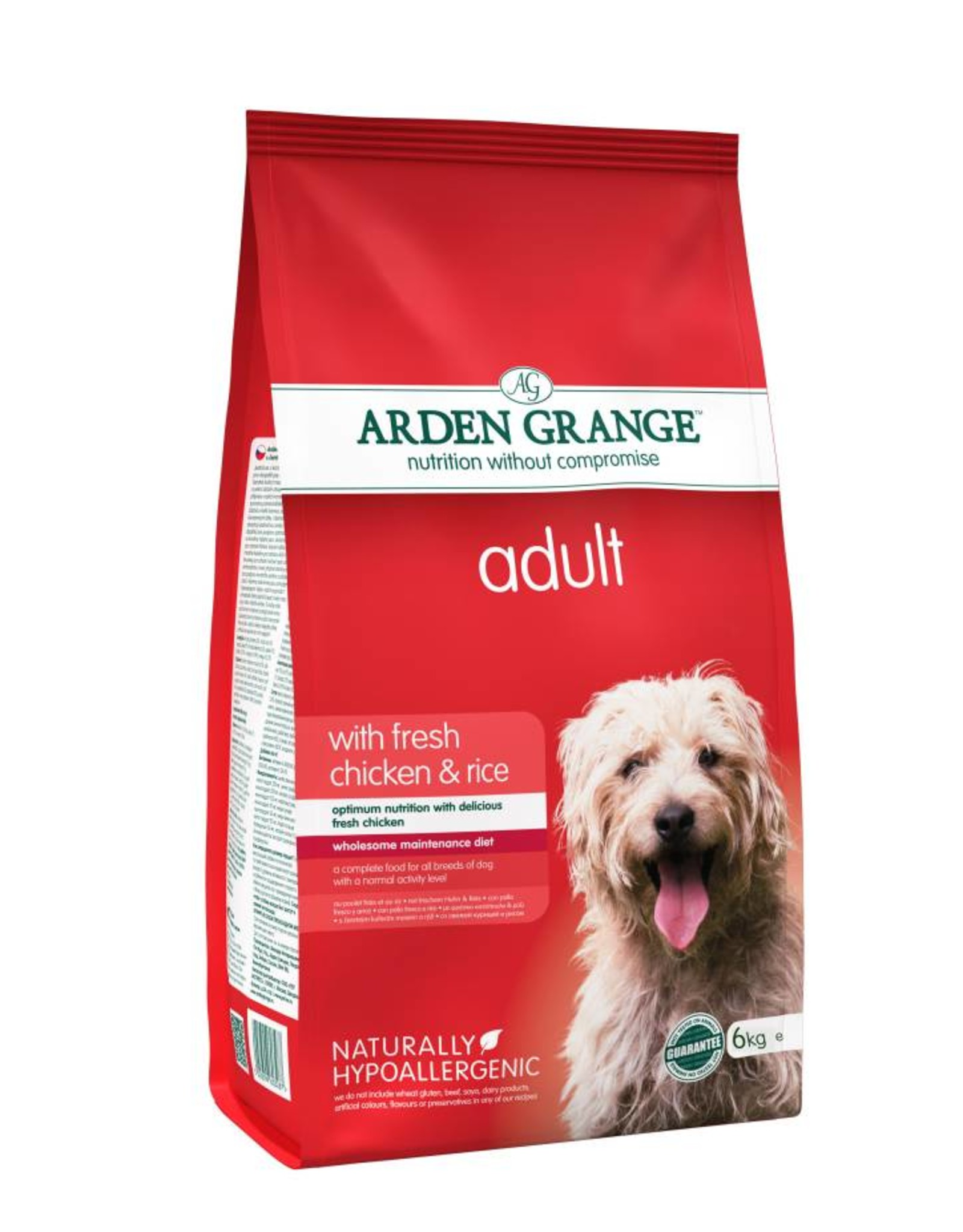 Arden Grange Adult Dog Dry Food, Chicken & Rice