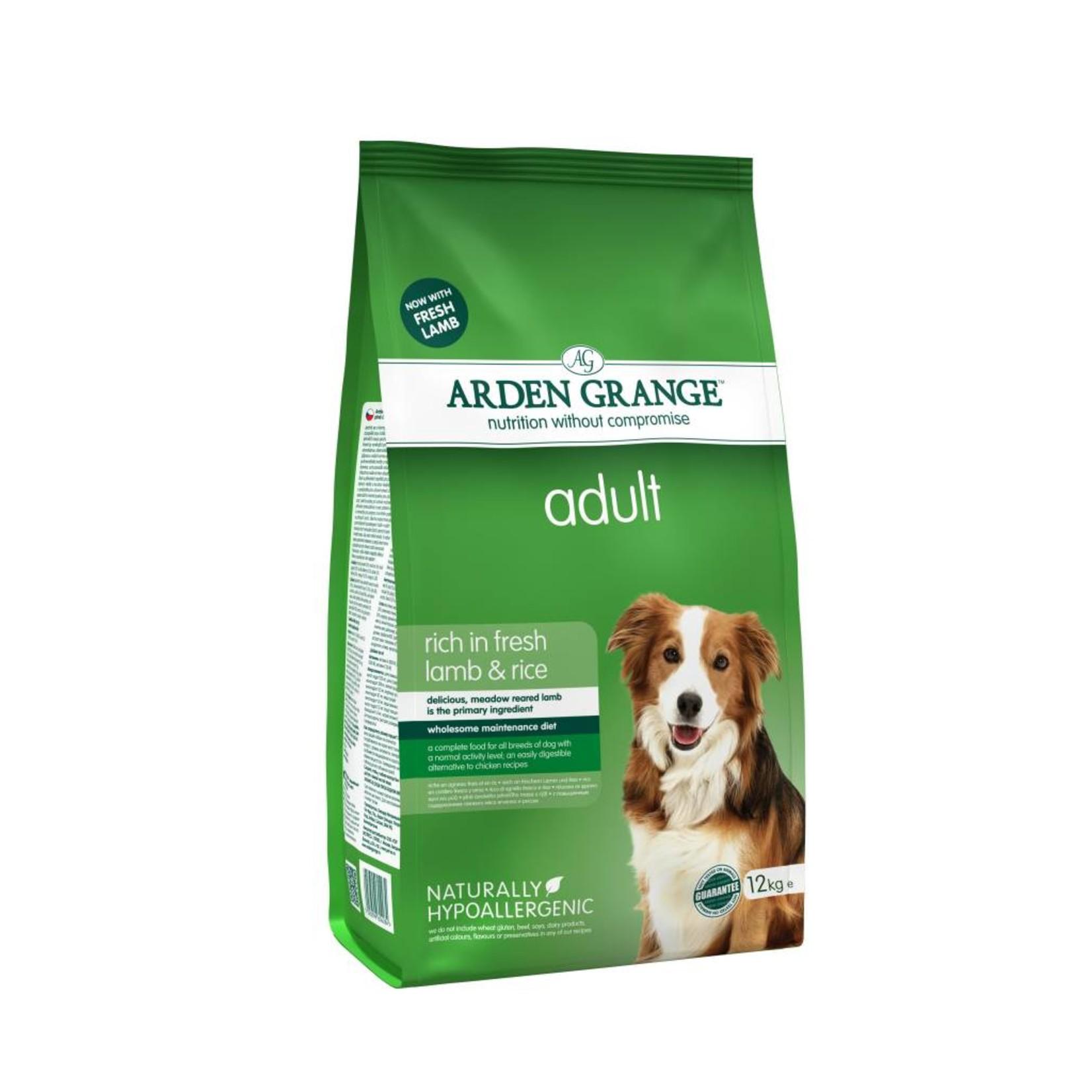 Arden Grange Adult Dog Dry Food, Lamb & Rice
